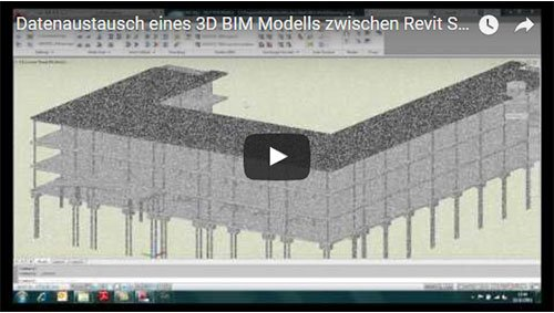 Trasferire un modello 3D BIM da REVIT Structure 2012 a GRAITEC Advance Steel