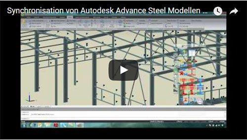 Sincronizzazione di un modello di Advance Steel con Advance Design