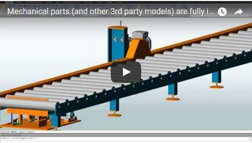 Scopri come semplici parti meccaniche (o altri modelli 3D) sono pienamente integrati all'interno del vostro modello 3D AS