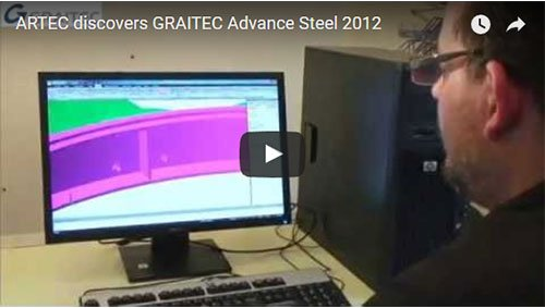 ARTEC scopre Advance Steel 2012!