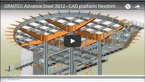 Advance Steel 2012 - Libertà sulla piattaforma CAD