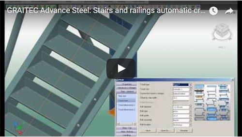 Creazione automatica di scale e parapetti
