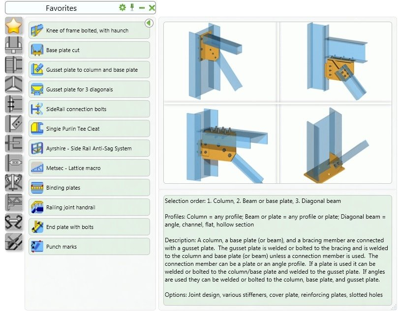GRAITEC Autodesk Advance Steel | Strutturale Modellazione