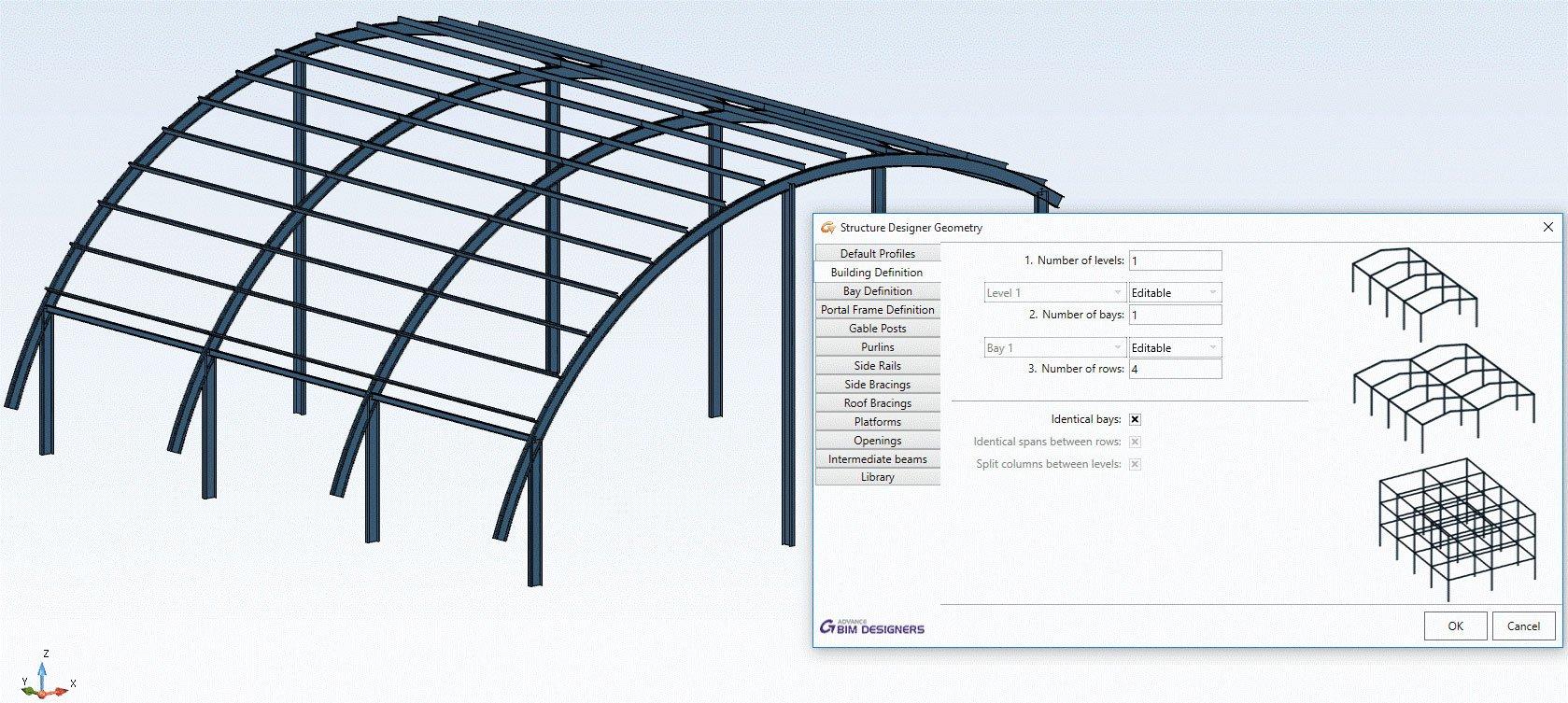 GRAITEC Advance Design | Verifica degli elementi in acciaio