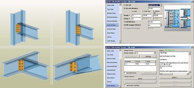 GRAITEC Autodesk Advance Steel | Eurocodici 3 | Angolare