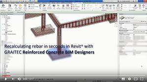 Ricalcolo dell'armatura per le fondazioni in Revit attraverso i Reinforced Concrete BIM Designers
