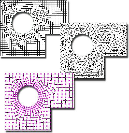 GRAITEC Advance Design | Mesh | Controllo avanzato della meshatura globale