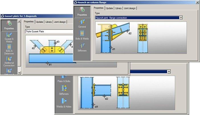 GRAITEC Autodesk Advance Steel | Eurocodici 3