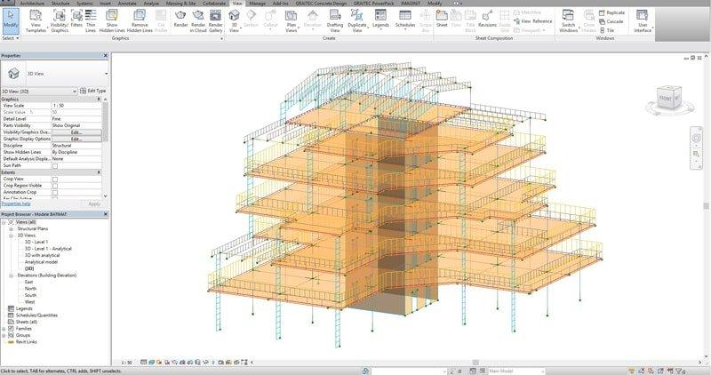 GRAITEC Advance Design | Flusso di lavoro BIM per il cemento armato strutturale