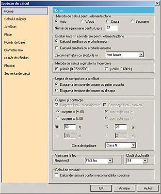 GRAITEC Advance Design | Verifica di elementi in cemento armato | Semplice definizione delle ipotesi di calcolo globali