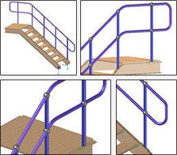 GRAITEC Store | Steel Stair & Railing Designer per Advance Steel