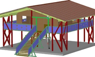 autodesk-advance-steel edifici